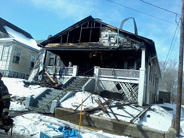 Hannibal Home Suffers Heavy Fire Damage